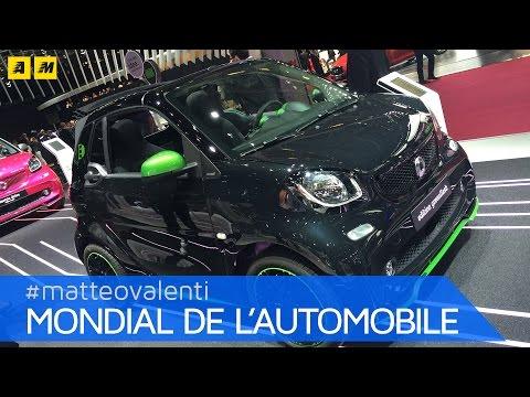Nuova smart fortwo (forfour) electric drive (elettrica) | PARIGI 2016
