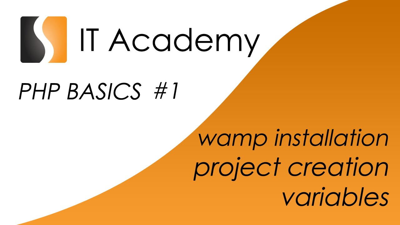 Php01 easy php tutorial and lesson wamp installation project php01 easy php tutorial and lesson wamp installation project creation and variables baditri Gallery