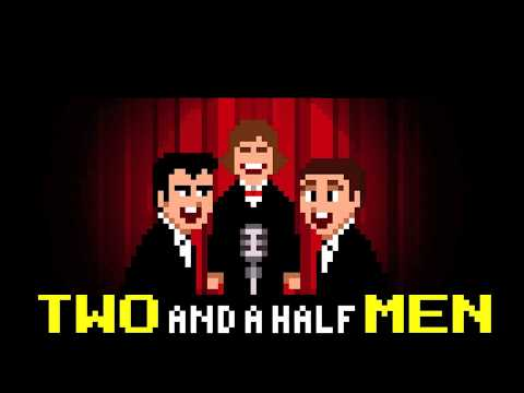 Two and Half Men 8Bit Show Opening