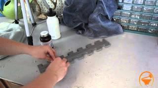 Does Rubber Cement work on EVA Foam Test