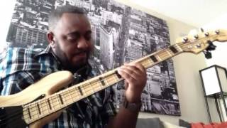Donnie McClurkin - Days of Elijah (Live) bass cover