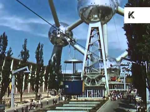 Expo 58, Brussels World's Fair 1958 Home Movies