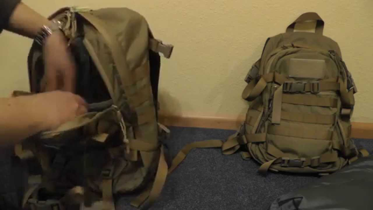 Wisport Sparrow 30   20 EDC und Outdoor Rucksack Tasche Bag - YouTube ae4db9b238