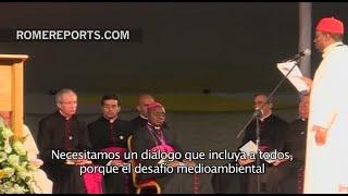 Francisco improvisa un fuerte discurso ante sacerdotes y religiosos de Kenia