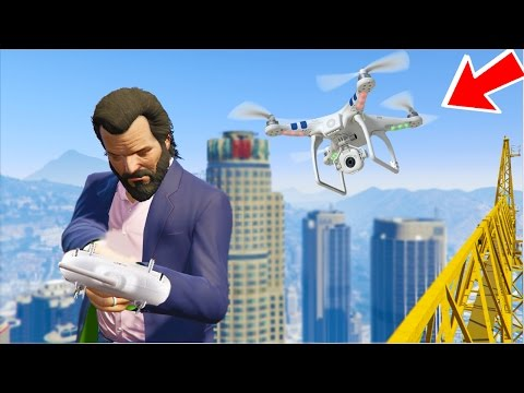 "GTA 5 DRONE MOD! ""You Have To See This"" (GTA 5 Mods)"
