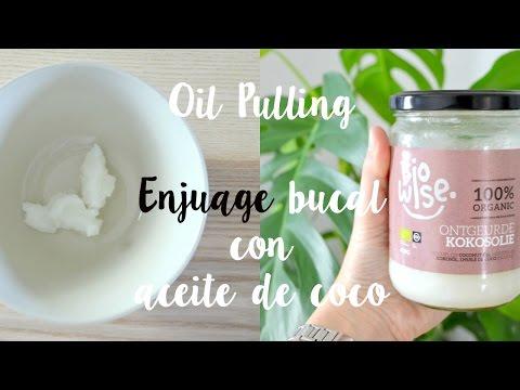 Oil Pulling : beneficios del enjuage bucal con ACEITE de COCO.