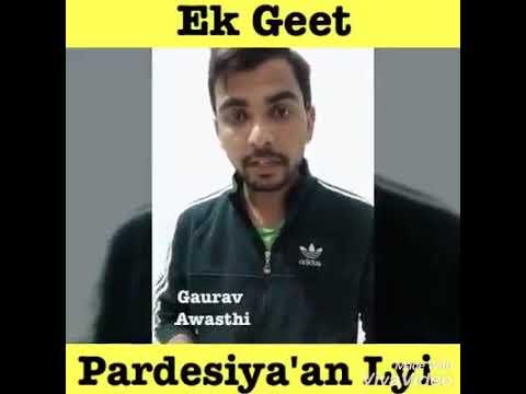 Gaurav Awasthi: Kehnde Challya Canada Hun Doller Kamau Ga.