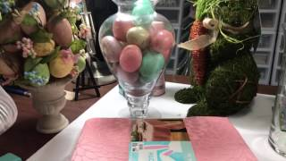 Spring Home Decor Haul from Big Lots and Hobby Lobby | WanderingDreamer555