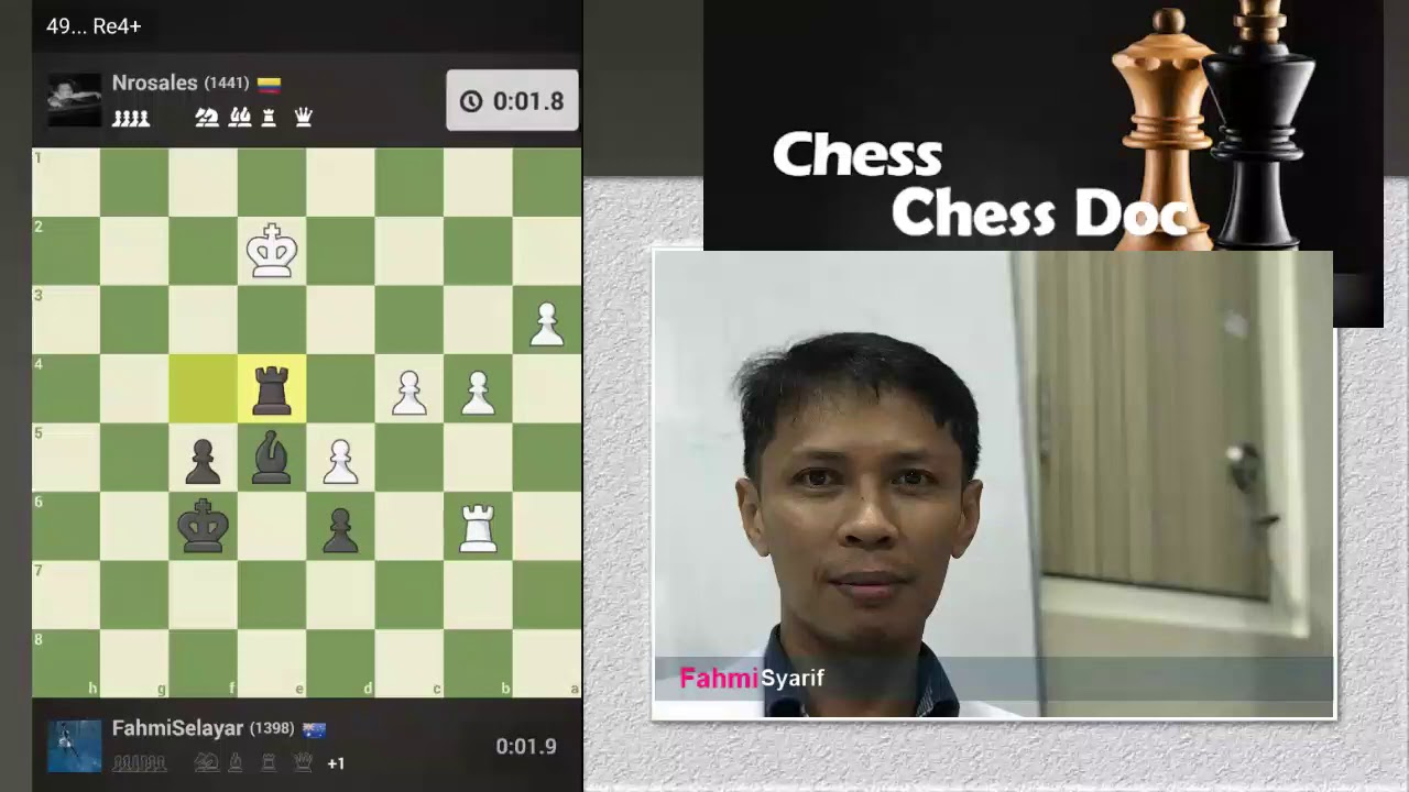 mobile app chessdoc playing live chess at chessdotcom
