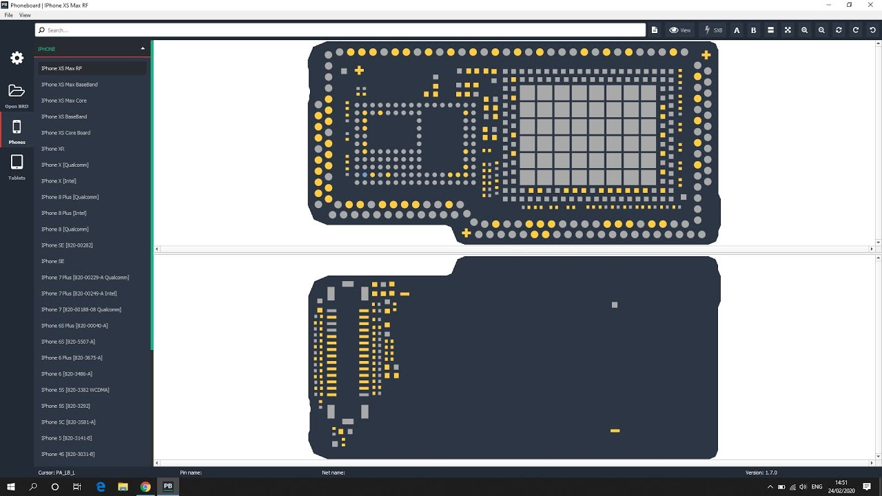 How To Check Mobile Pcb Board Diagram Free Software