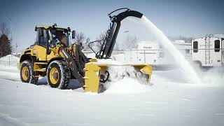Video still for The HitchDoc 9200 Snowblower on a Volvo