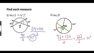 Video Secants, Tangents, and Angle Measures download MP3, 3GP, MP4, WEBM, AVI, FLV November 2017