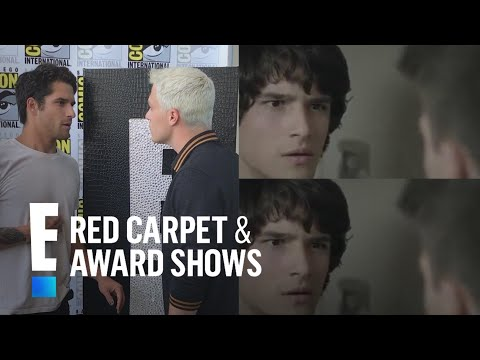 "Tyler Posey & Colton Haynes Reenact Iconic ""Teen Wolf"" Scene 