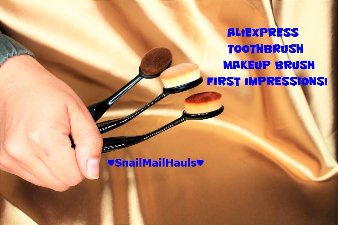 Aliexpress Haul #1! | Replica Artist Makeup Brush | SnailMailHauls