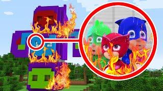 I Found The PJ MASKS HQ ON FIRE!! (Ps3/Xbox360/PS4/XboxOne/PE/MCPE)