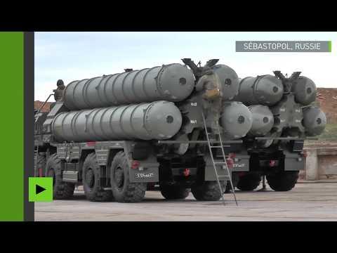 La Russie déploie un système nouveau système de défense sol-air S-400 en Crimée
