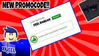 NOVO PROMOCODE EM ROBLOX!!