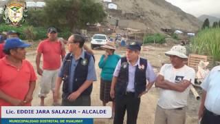 Municipalidad de Hualmay llevó ayuda a los damnificados  por lo huaicos en el valle Huaura - Sayan