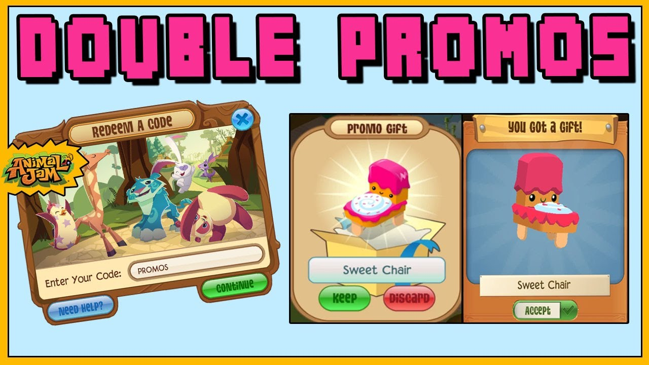 NEW ANIMAL JAM PROMO CODES WORK ON PLAY WILD ALSO