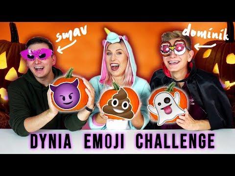 🎃 DYNIA EMOJI CHALLENGE 🎃 Smav, Dominik i Agnieszka Grzelak Vlog na Halloween