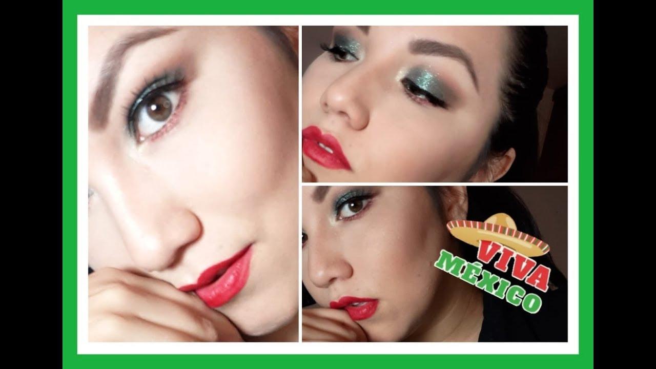 Maquillaje patrio y hablamos de México-Charlyn