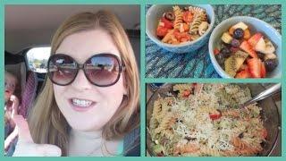 Making Pasta Salad Ditl! (april 27, 2015)