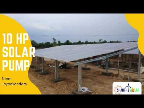 10 Hp Solar Water Pump in Jayankondam