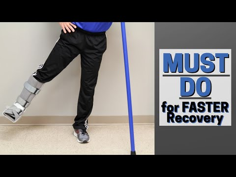 MUST Do Exercises with Injured Foot or AnkleFaster Recovery
