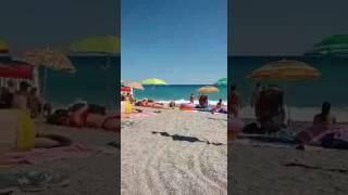 Spiaggia di Borgio verezzi!! Luglio 2017