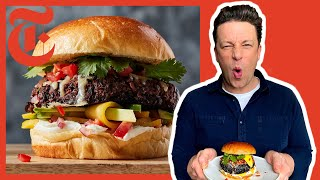 Jamie Oliver's Ultimate Veggie Burgers | NYT Cooking