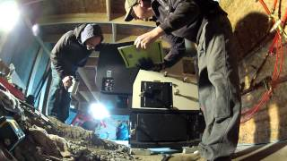 Harman Pb105 Pellet Boiler First Firing - 116 - My Diy Garage Build Hd Time Lapse