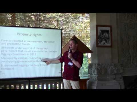 Vol 30  Rainer Heufers - Property Rights and Deforestation in Indonesia