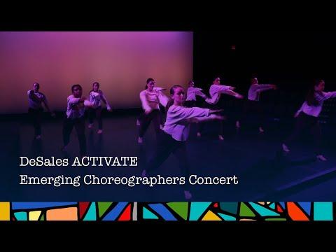DeSales Activate - Emerging Choreographers Concert