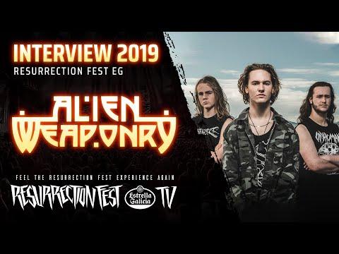 Resurrection Fest EG 2019 - Interview with Alien Weaponry