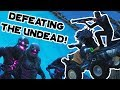 DEFEATING THE UNDEAD in Fortnite Battle Royale!!