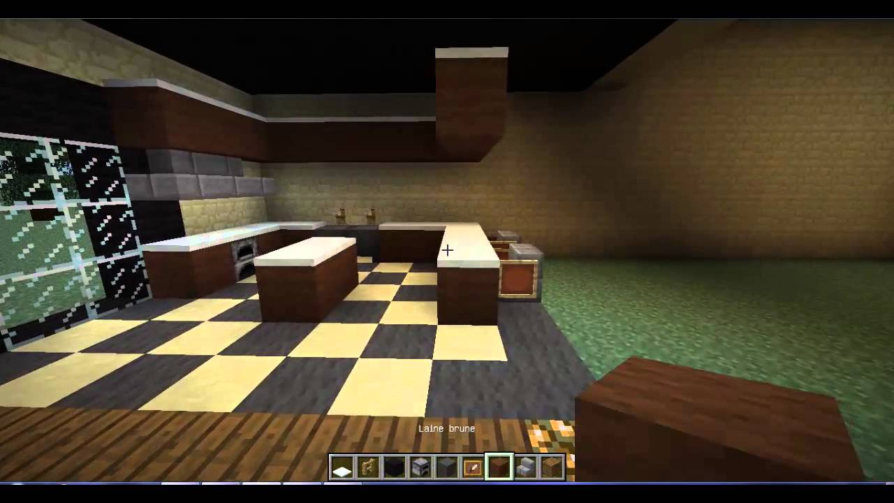 Minecraft Id 233 E Deco Cuisine Et Salle A Manger Youtube