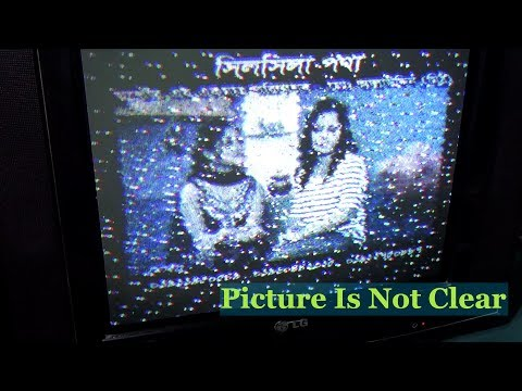 How To Repair Color Television - When Channel Not Clear (Step By Step) - Tutorial Videos