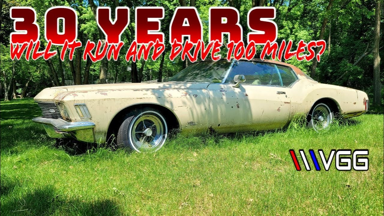 Download ABANDONED 1971 Buick Riviera Boat Tail! - Will it RUN AND DRIVE 100 Miles Home?