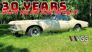 ABANDONED 1971 Buick Riviera Boat Tail! - Will it RUN AND DRIVE 100 Miles Home?
