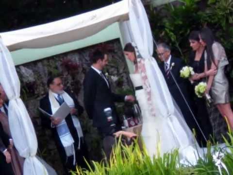 Miami Beach Botanical Garden Wedding Event.