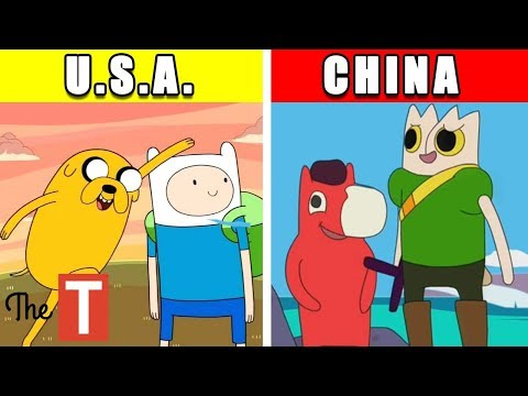 10 Knockoffs Of Popular Kids Shows From Around The World