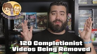 120 Completionist Videos to Be Removed from Channel - #CUPodcast