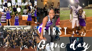 First Football Game | Game Day Vlog |  High school Edition!