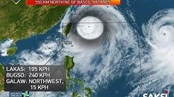 Saksi: Typhoon Hanna, lalong lumakas at inaasahang lalabas ng PAR anumang oras mula ngayon