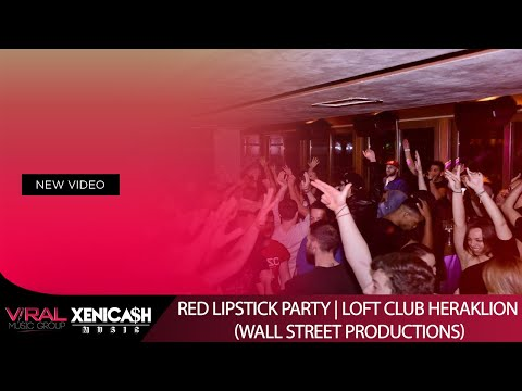 RED LIPSTICK PARTY @ Loft Club Heraklion (Wall Street Productions)