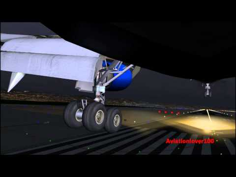 FSX- United Airlines Boeing 767-300ER Landing In Server Thunderstoms @ San  Francisco [Commentary] HD