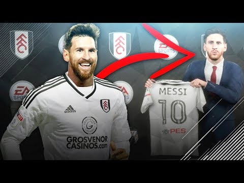 Is it possible to sign Lionel Messi for an English Football League team in FIFA 18 Career Mode?