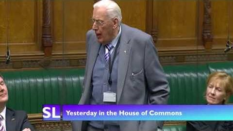 Dr Paisley's farewell speech to the House of Commons