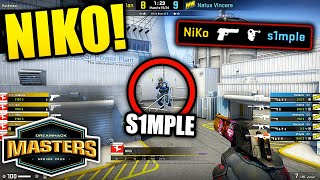 FAZE NIKO DELETED S1MPLE!! DreamHack Masters Spring 2020 BEST MOMENTS - CSGO Day 12