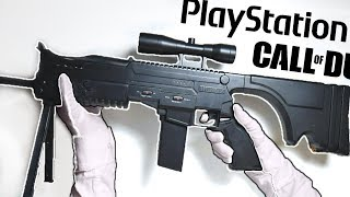 ULTIMATE CALL OF DUTY PAD? ASSAULT RIFLE CONTROLLER! Unboxing EK-86 PS3 Black Ops 2 Zombies TranZit